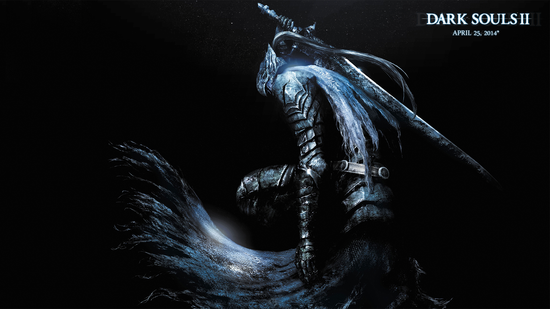 Dark Souls 2 Wallpaper Blue By Syntheticarts On Deviantart