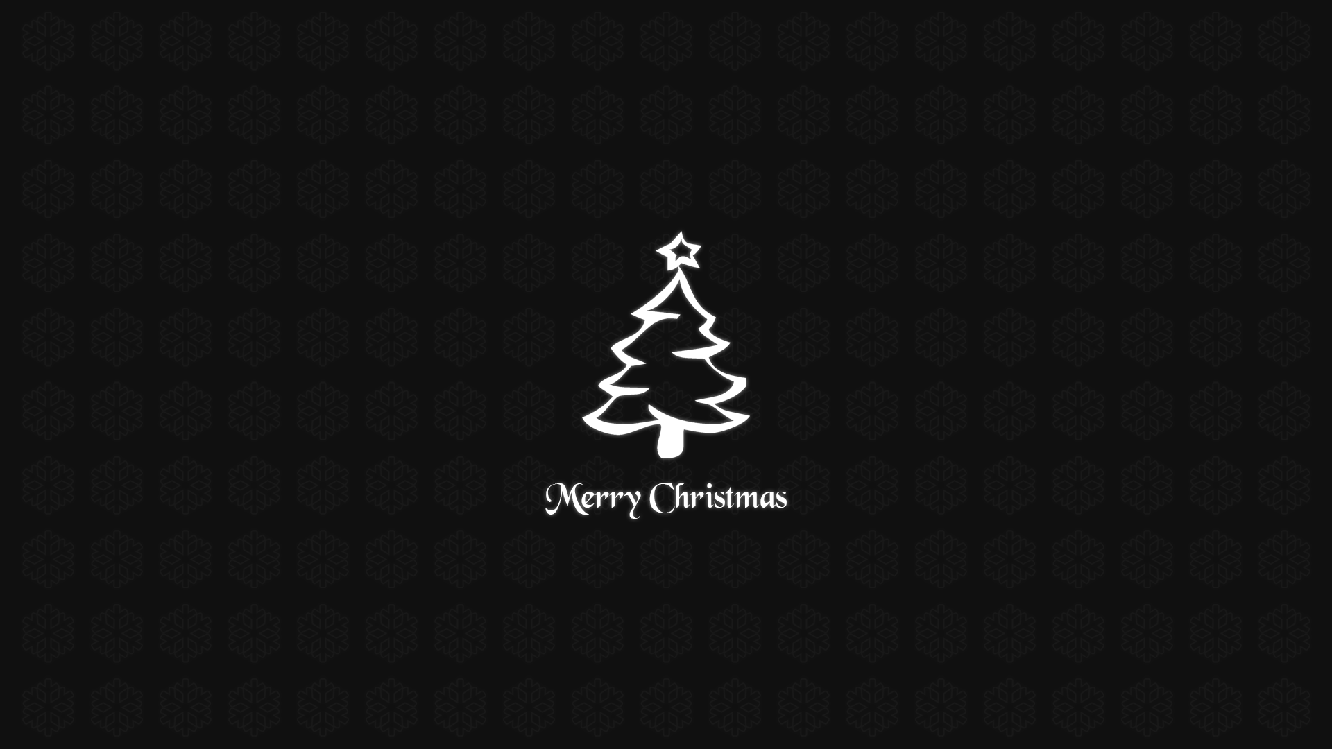 Simple Christmas Wallpaper 1920x1080 By SyntheticArts