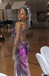 Frozen Girl at Prom