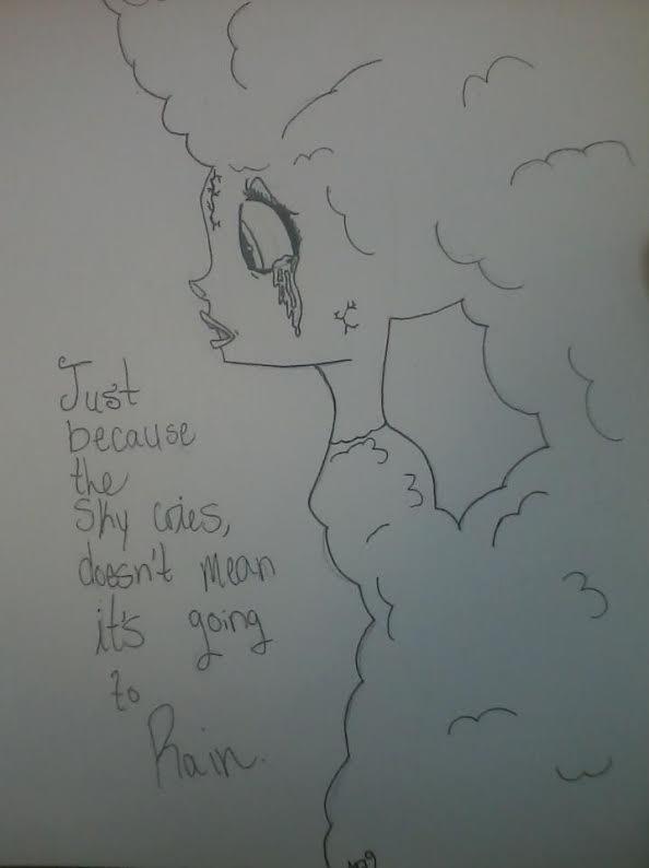 The Sky's Crying by XxMiahannxX