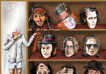 Johnny Depp by canerator