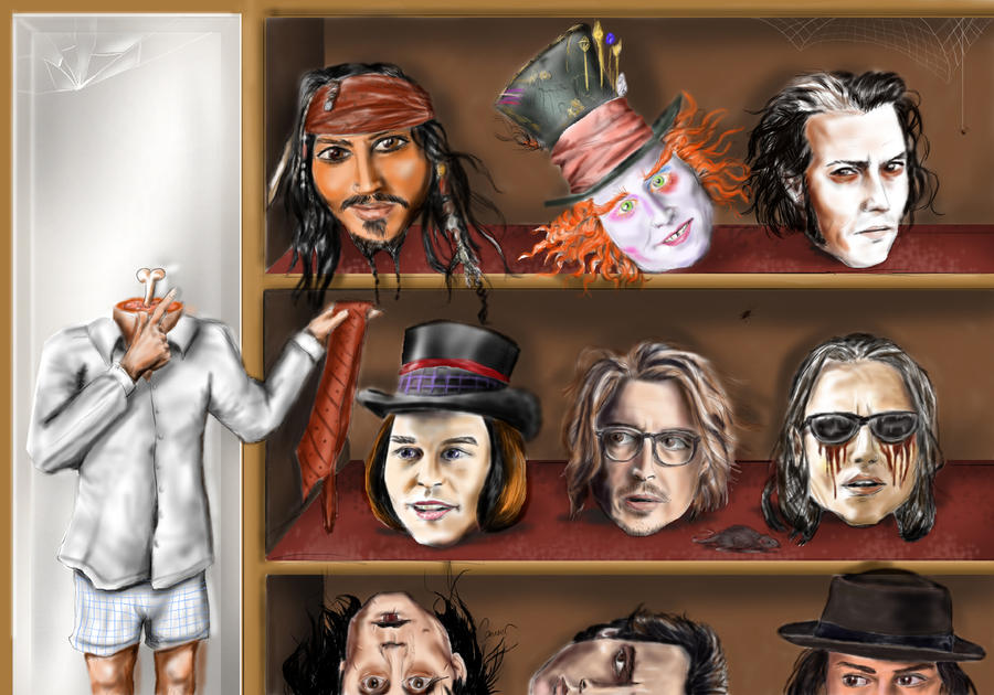 Johnny Depp by canerator