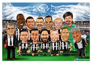 besiktas team portrait cartoon 15_16