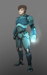 Gritty Reboot: Megaman by BrojoJojo