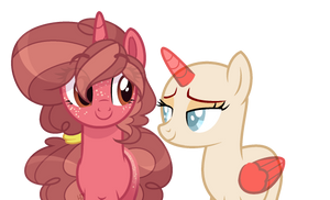 Staring at nothing intensifies{Collab} by Marty-Draws