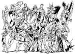 My Favorite American Super Heroes by texas0418