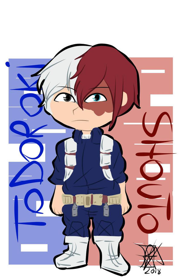 [$].:Todoroki Shouto:.  by BellaSpookii