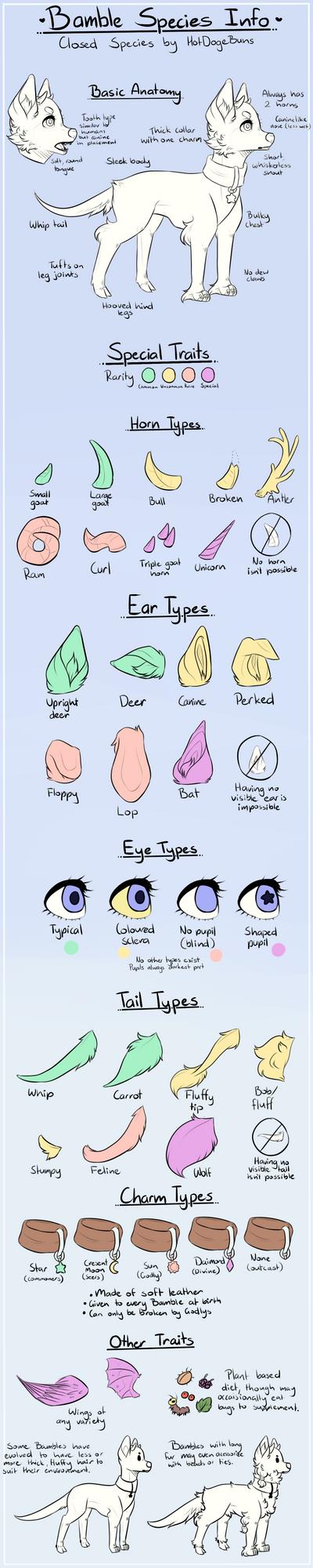 Bamble Species Info by HotDogeBuns