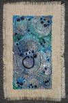 A lil blue green and silver 1 by Artwyrd