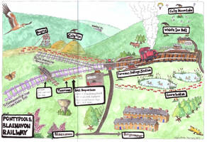 Railway map 2009