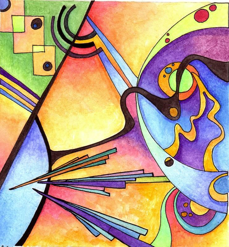 Kandinsky Inspired 1 by Artwyrd on DeviantArt