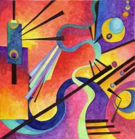 Kandinsky Inspired 3 by Artwyrd