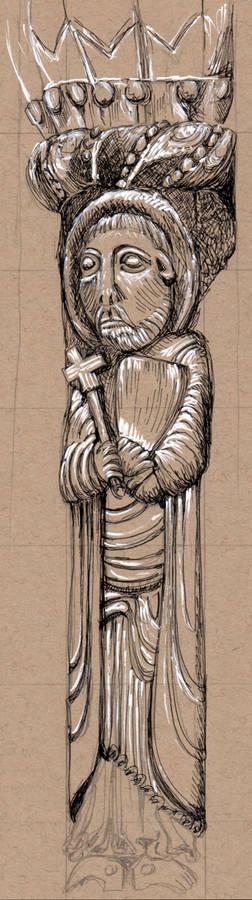 Kilpeck Sketch 21 July 09