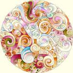 Mandala 24 October 2011 by Artwyrd
