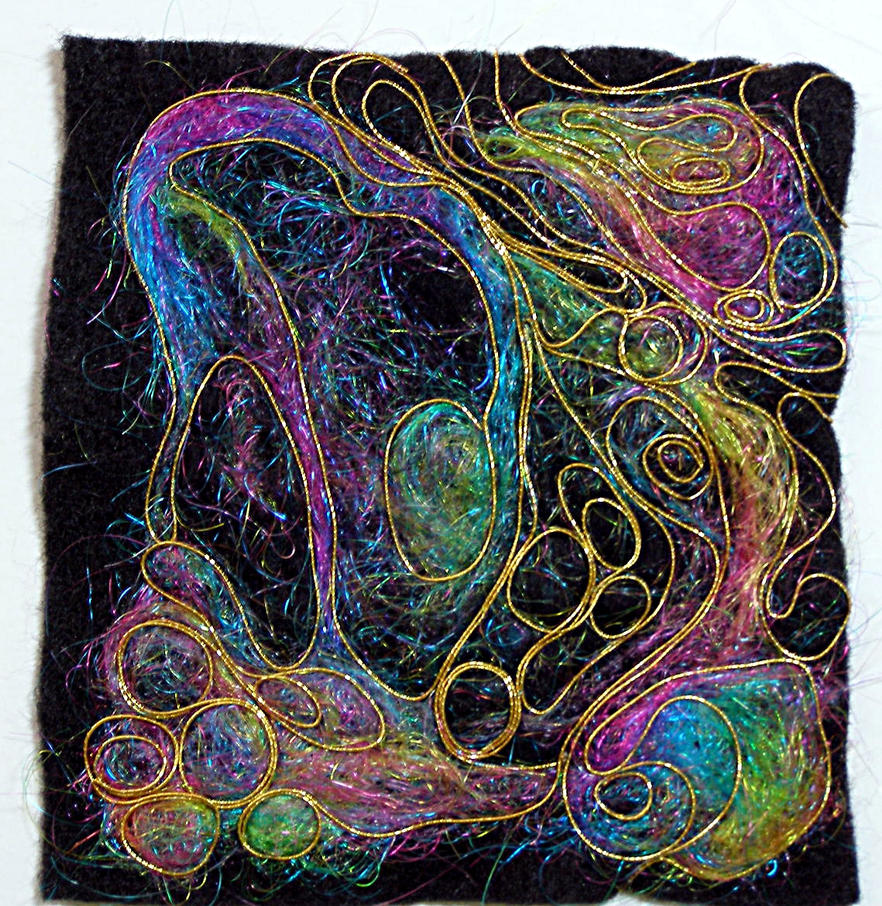 Abstract Felt WIP 22 Mar 2012 by Artwyrd