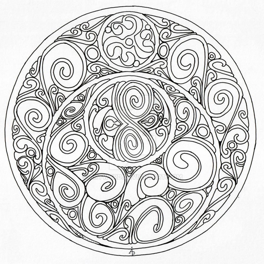 difficult level mandala coloring pages sketch coloring page. Black Bedroom Furniture Sets. Home Design Ideas