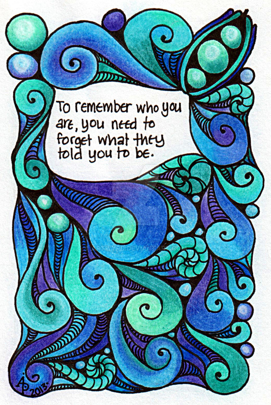 To Remember Who You Are