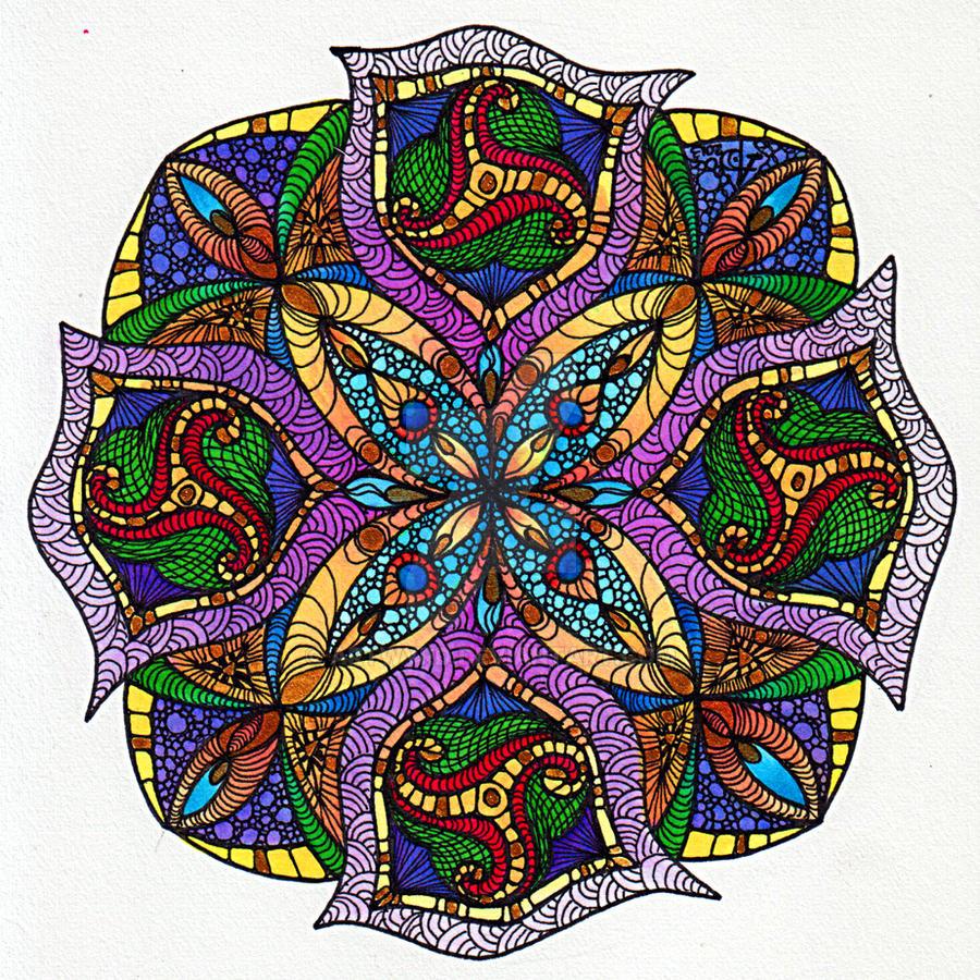 August Mandala 2