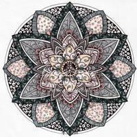 August Mandala 9 by Artwyrd