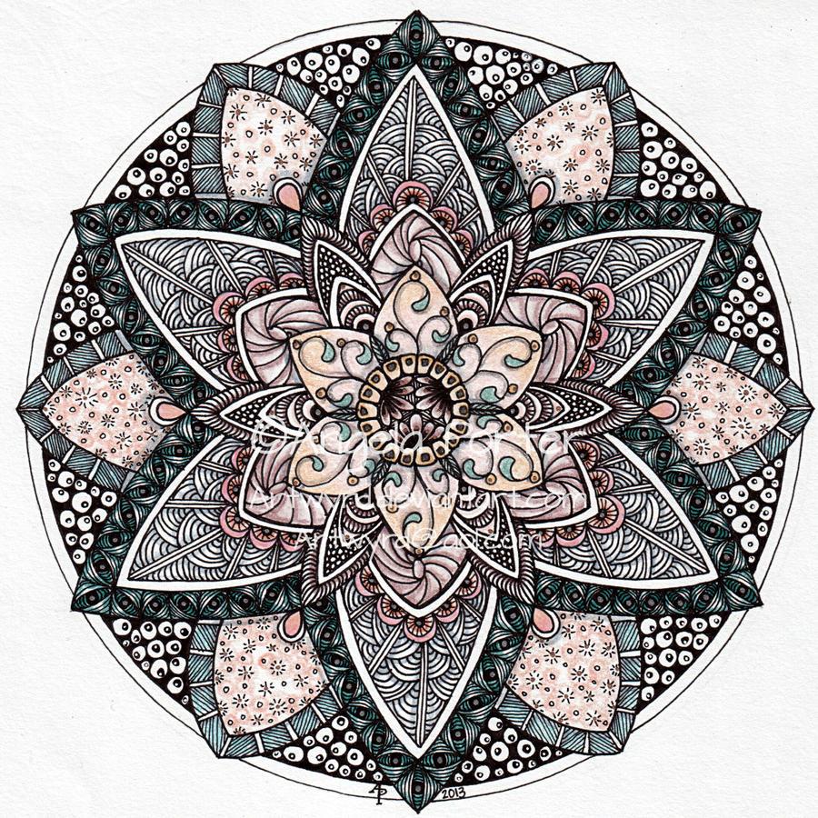August Mandala 9 by Artwyrd on DeviantArt