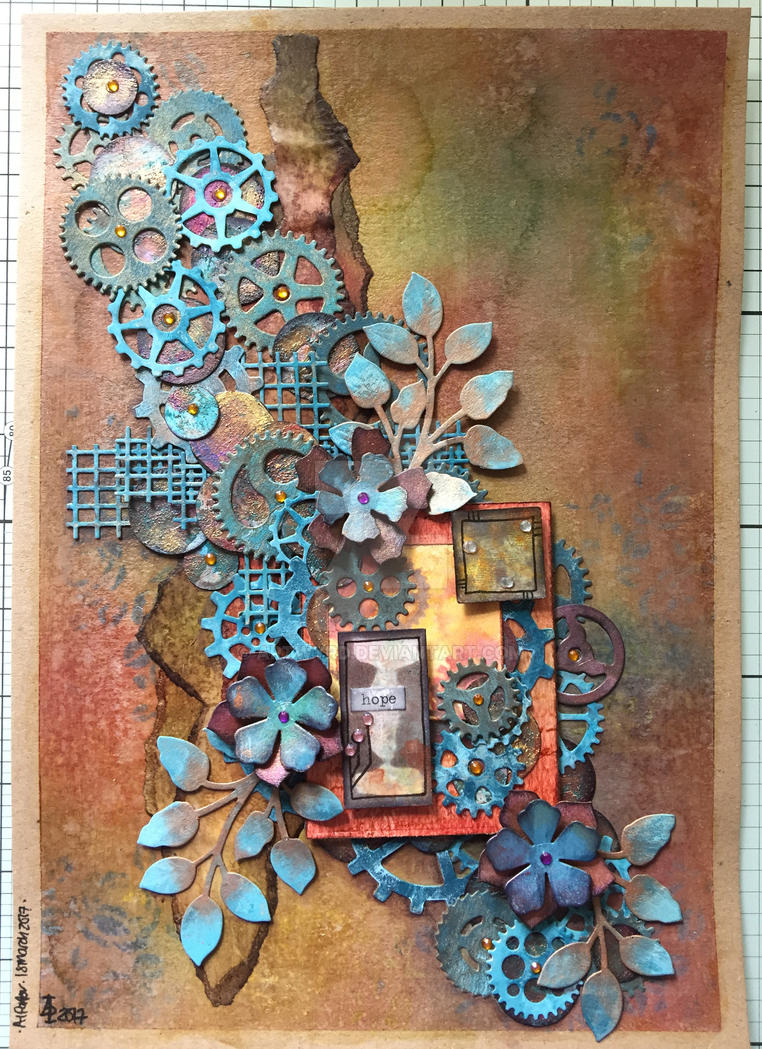 Hope - flowerpunked by Artwyrd