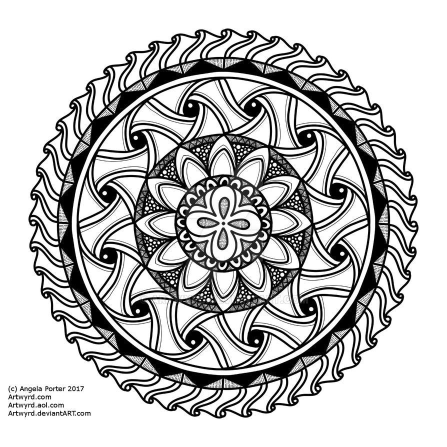 Mandala G Small AngelaPorter 18May2017 by Artwyrd