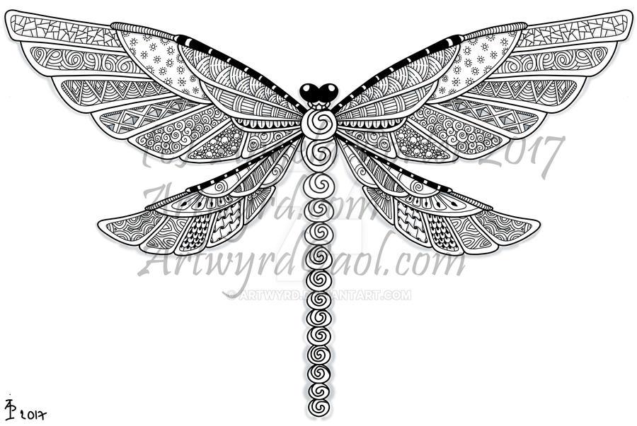 Dragonfly by Artwyrd
