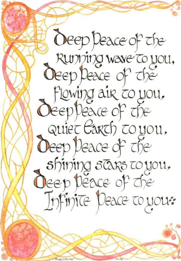 Celtic Blessing 1 By Artwyrd On Deviantart