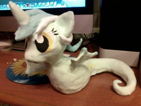 Lyra sea pony sculpture side right
