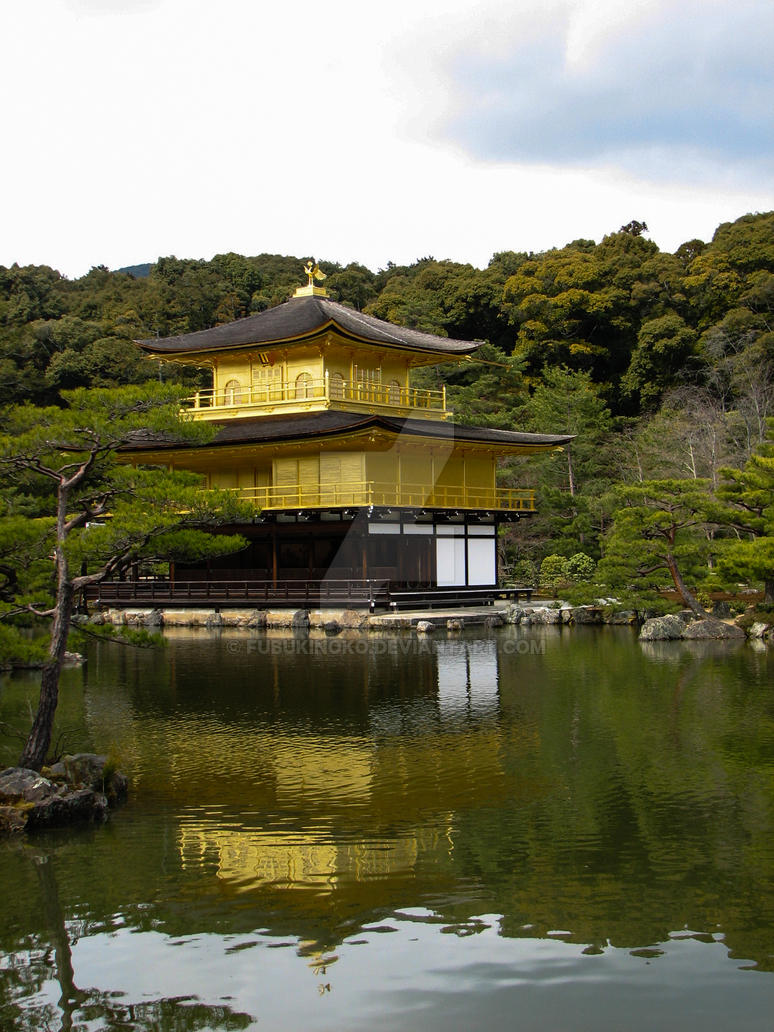 Temple of the Golden Pavilion 1 by FubukiNoKo