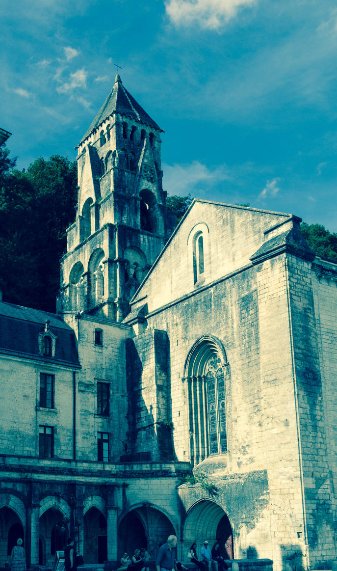 Abbey of Brantome 2 by FubukiNoKo