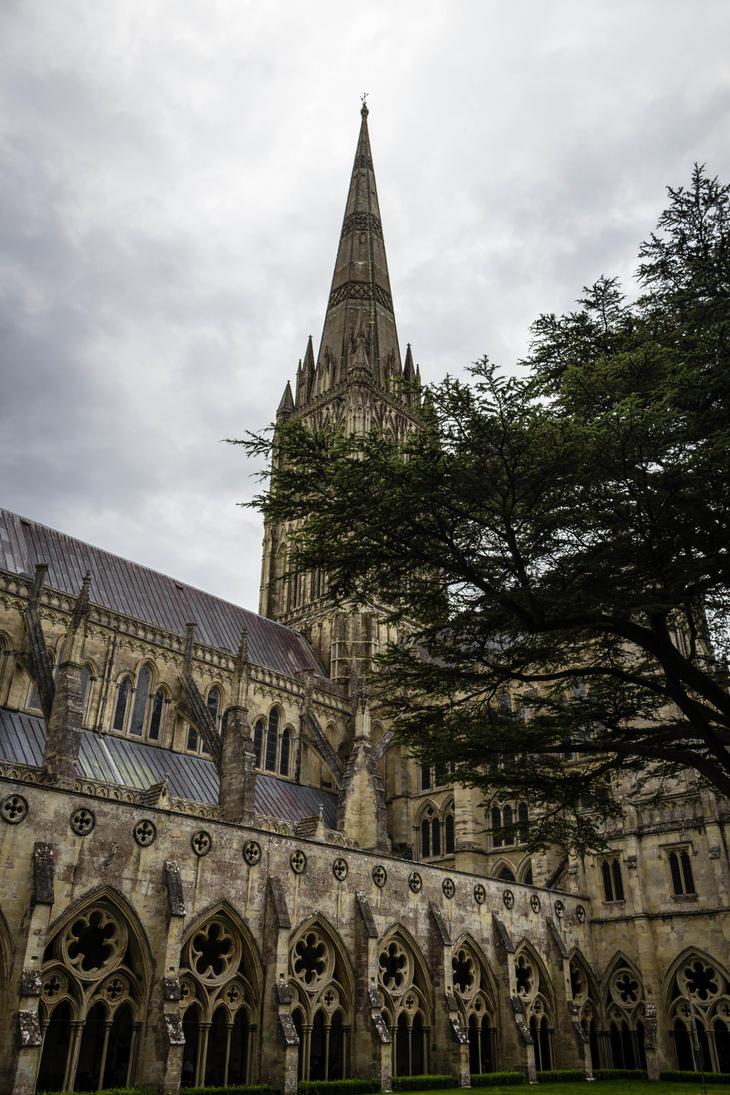 Salisbury Cathedral 4 by FubukiNoKo