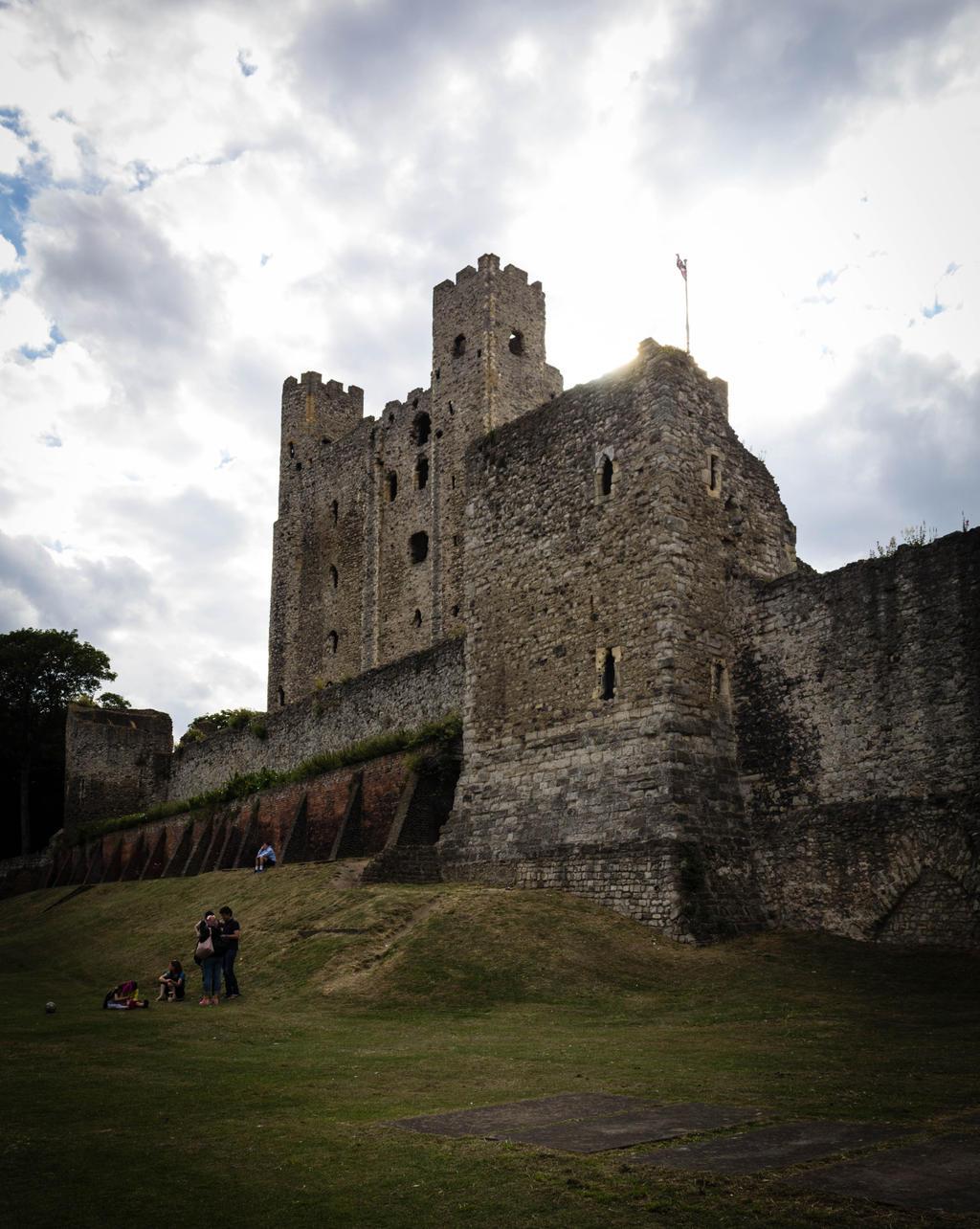 Rochester castle 2 by FubukiNoKo