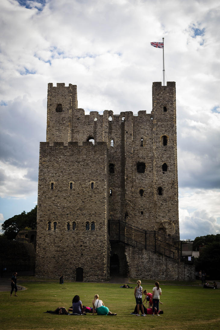 Rochester castle 3 by FubukiNoKo