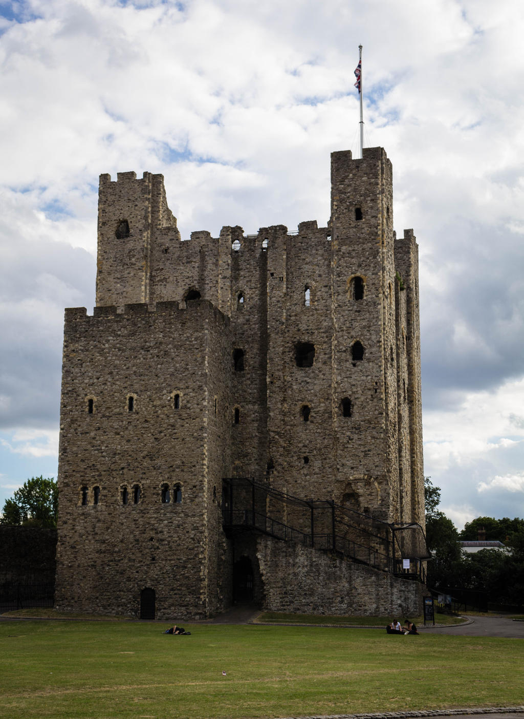 Rochester castle 4 by FubukiNoKo