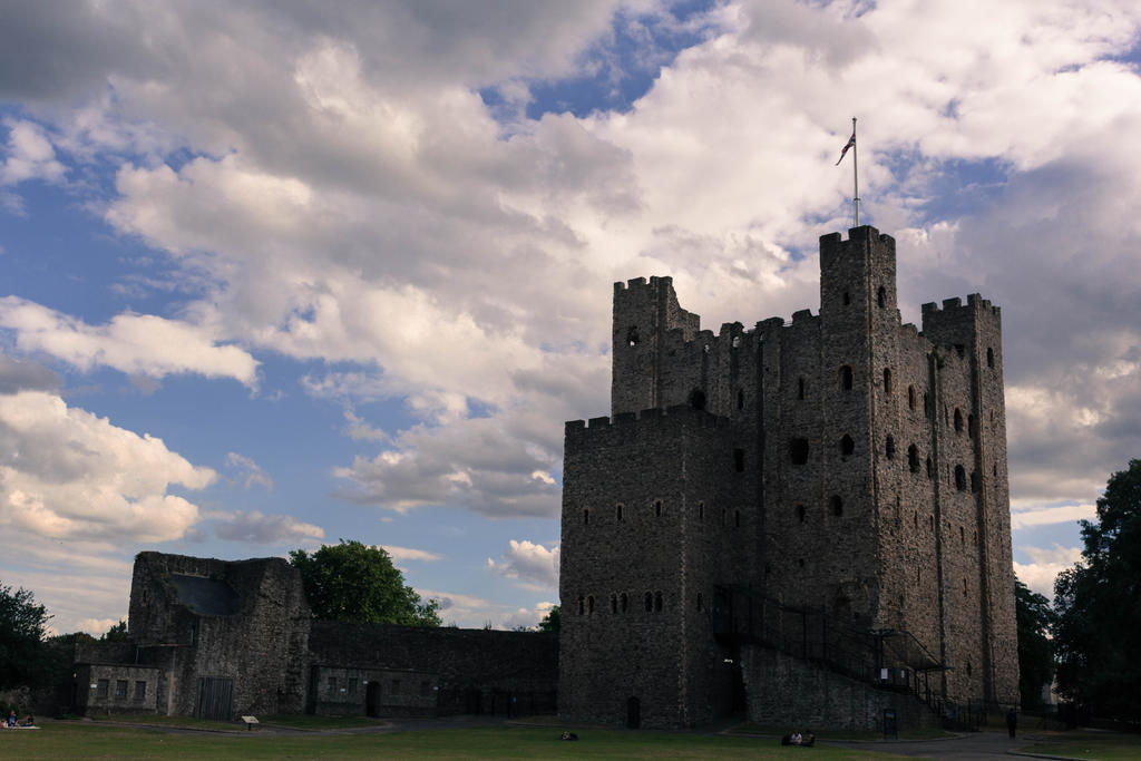 Rochester castle 6 by FubukiNoKo