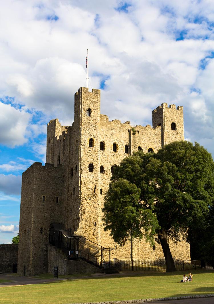 Rochester castle 8 by FubukiNoKo