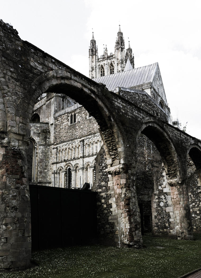 Canterbury cathedral 10 by FubukiNoKo