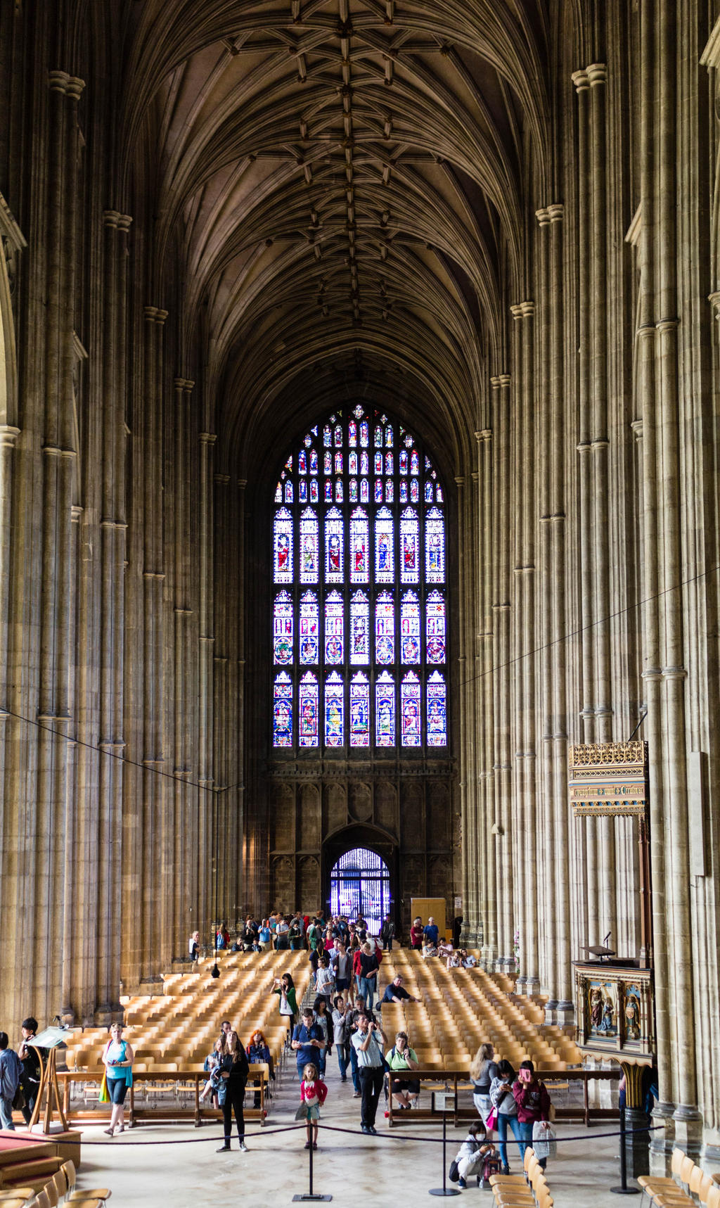 Canterbury cathedral 16 by FubukiNoKo