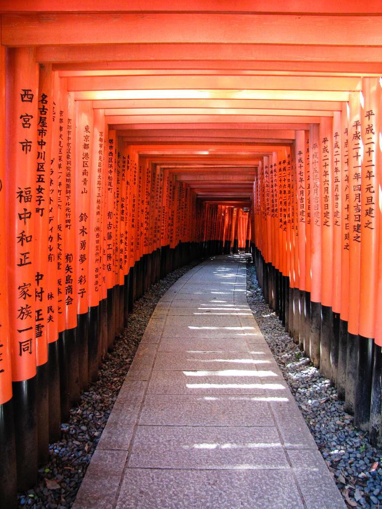 Fujimi inari taisha torii 4029 by FubukiNoKo