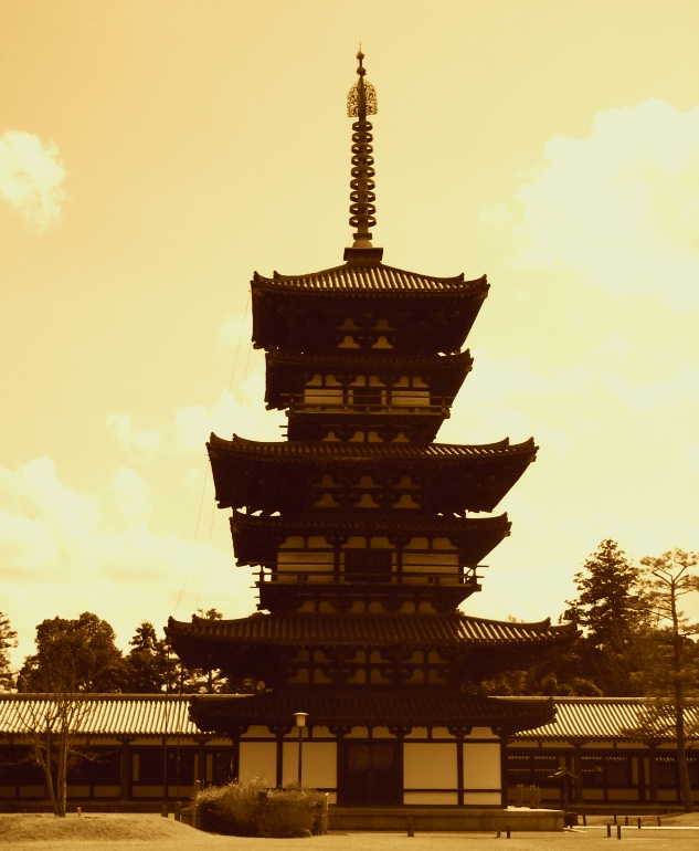 Yakushi temple by FubukiNoKo