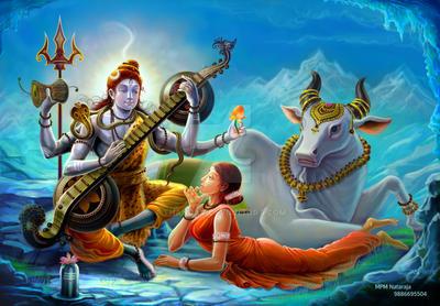 shiva by thandav
