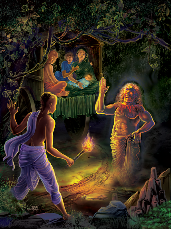 speach of ghost by thandav