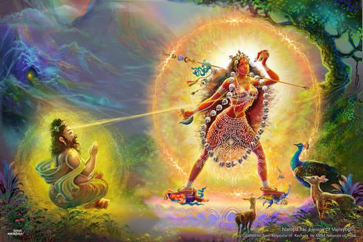 Vajrayogini appeared to Maha Siddha Naropa