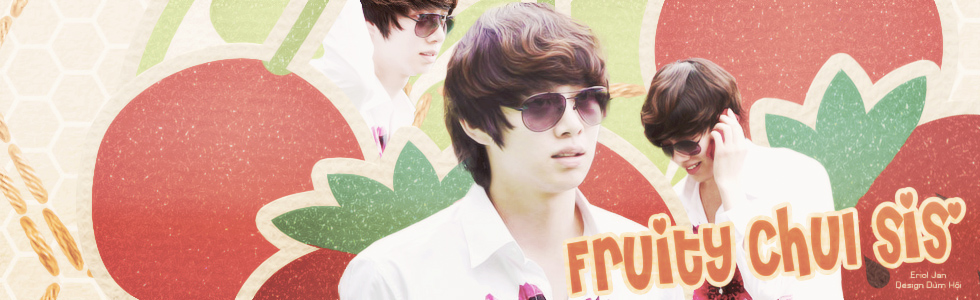 Fruity with Heechul by @EJ by Eriol-Diggory-Art