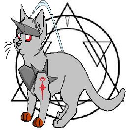 Alphonse Elric Cat by SalemSaberhagen12