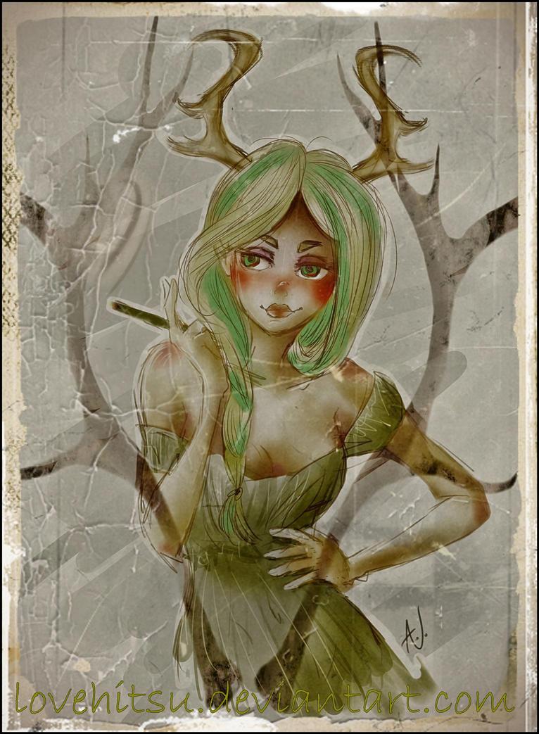 Deer Undo by lovehitsu