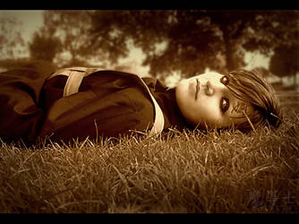 Laying Down / Gaara by SirEgglington
