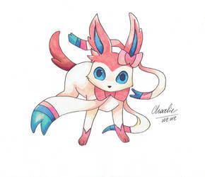 SYLVEON by ChiaryLoveHouse95