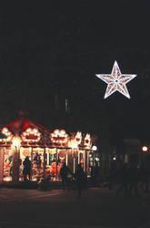 Carousel in the dark